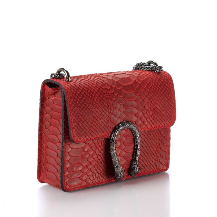 New Apparel tas rood snake