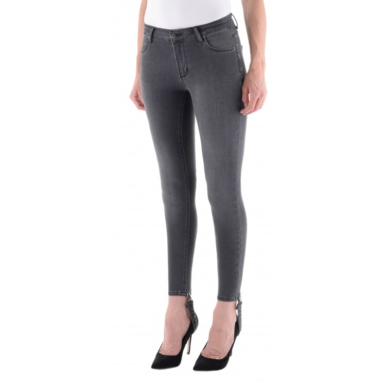 2nd One Broek Nicole 869 Crop Strappy Dust Grey