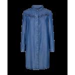 Freequent Long blouse Pretty SH medium Blue