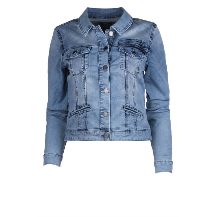 Geisha Jacket 85012 bleached denim