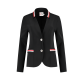 Helena Hart Blazer Michelle Tape Black stripe red