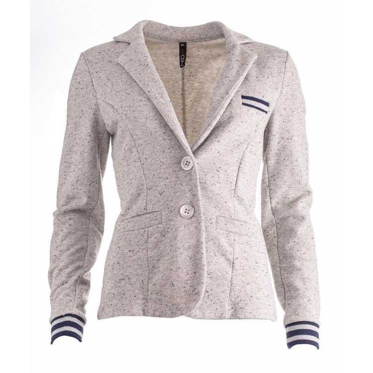 NED Blazer Fabio Sweat grey