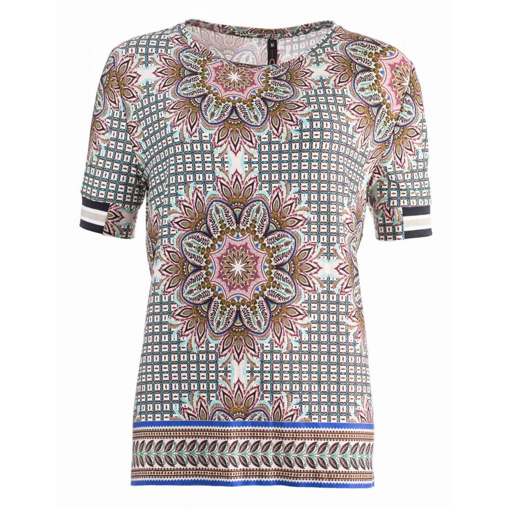 Ned Shirt Mabi Ss Mixed Flowers