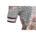 NED Shirt Mabi SS Mixed Flowers