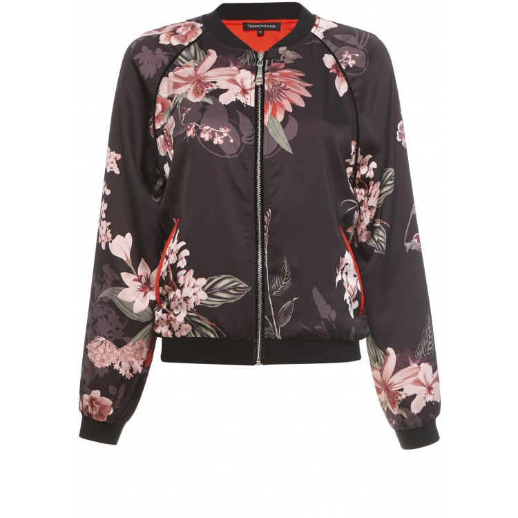 Tramontana Bomber Flower print multi colour