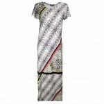 Geisha maxi dress 97071 sand combi