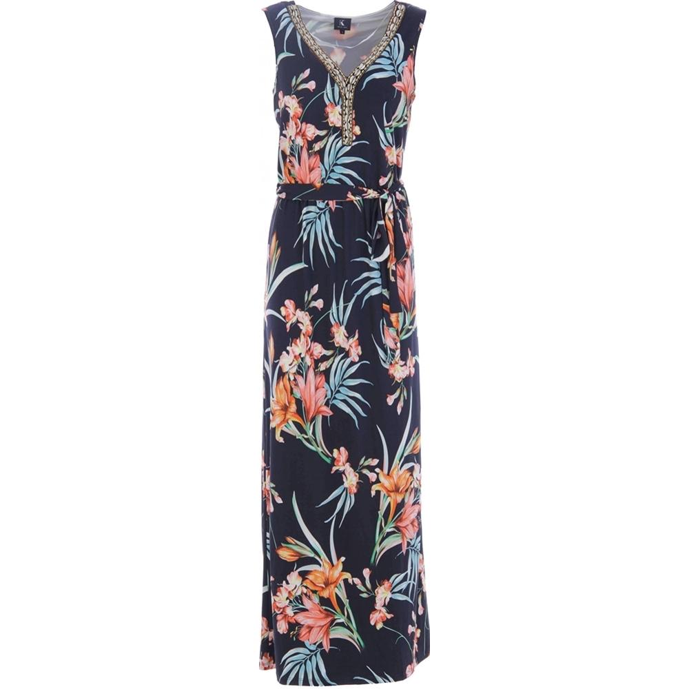 c0f0b0a14da K-design Maxi Dress N869