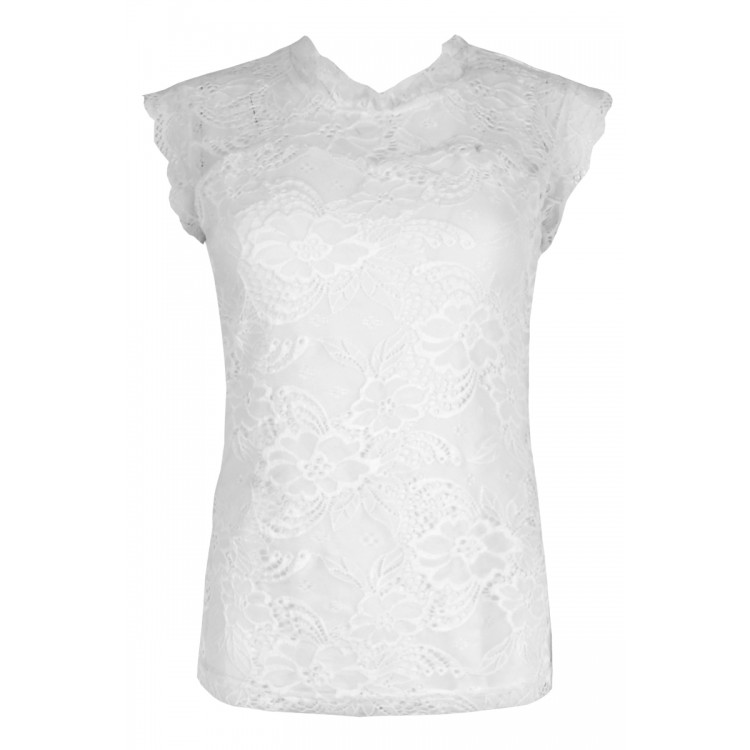 Maicazz Top Jeanine Offwhite