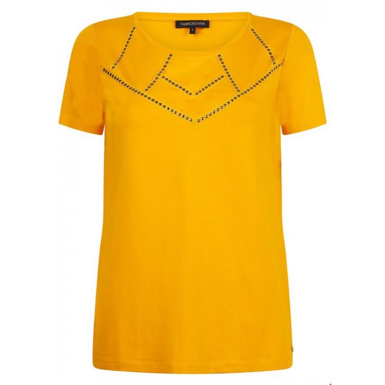 Tramontana Shirt Studded Ochre