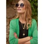 Tramontana Cardigan Short Bright Green
