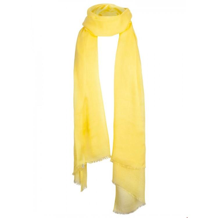 Tramontana Scarf Viscose solid yellow