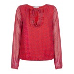 Tramontana Top Butterfly minimal Red