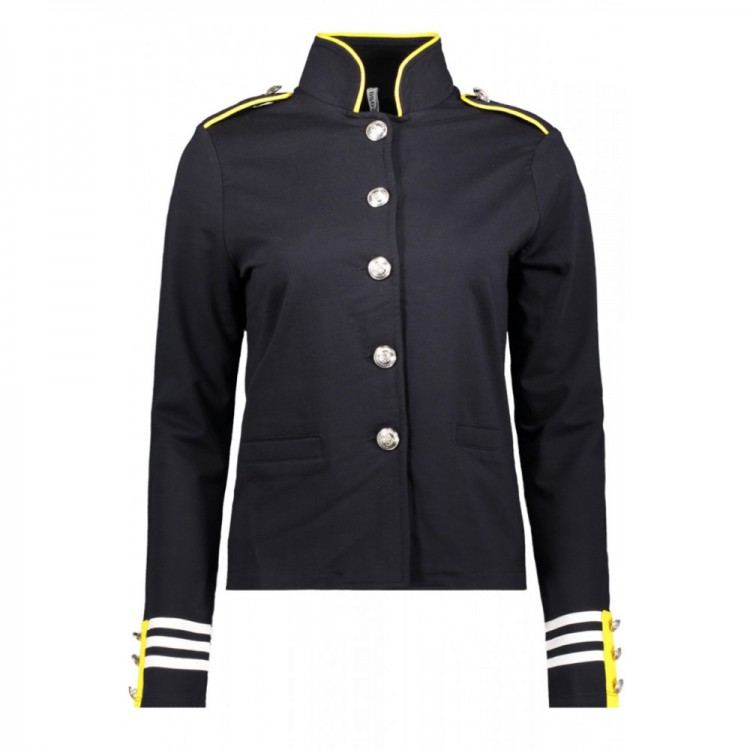 Zoso Military look Jacket navy/yellow