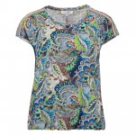 Enjoy Top Paisley print Lime